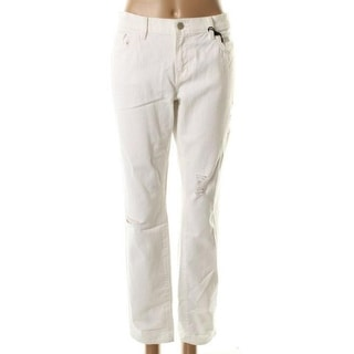 J Brand Womens Aidan Distressed Mid-Rise Boyish Jeans - 26