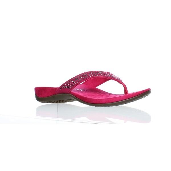 Shop Vionic Womens Marilla Flip Flops Size 8 - Free -2350