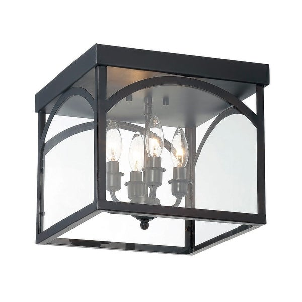 Savoy House 6-3058-4 Garrett 4 Light Flush Mount Ceiling Fixture