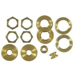 Westinghouse Assorted Brass Locknuts