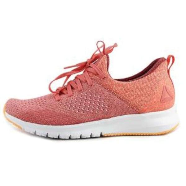 Reebok Womens Premier Ultk Fabric Low Top Lace Up Running Sneaker