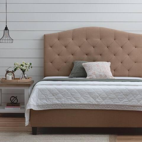 Brookside Upholstered Curved Edge Upholstered Bed
