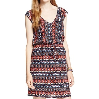 BeBop Womens Juniors Casual Dress Printed Mini - S