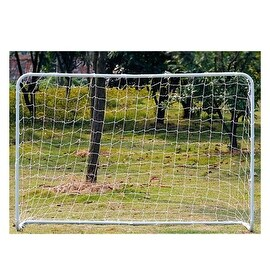Moveable Adjustable Durable Steel Tube Soccer Goal with Net Size 130cm X 80cm / 4.3' x 2.6'