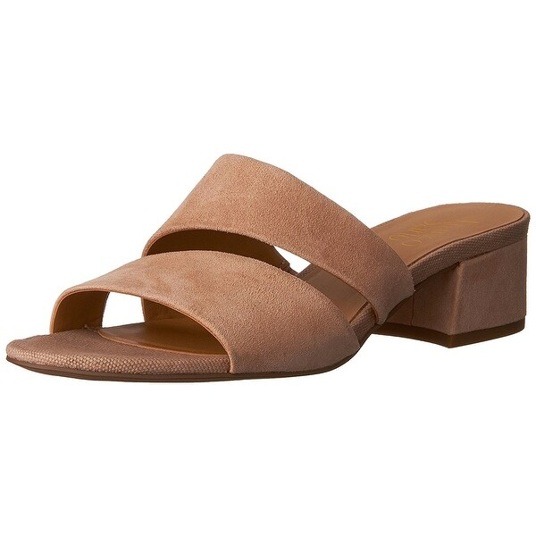 e26201b6c0 Shop Franco Sarto Womens Tallen Leather Open Toe Casual Slide ...