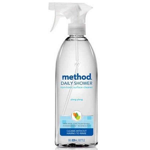 Method Daily Shower Cleaning Spray, Ylang Ylang, 28 Oz - Clear
