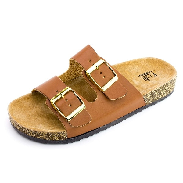 a380b266a Shop Kali Womens Open Toe Buckle Strap Sandals - Free Shipping On ...