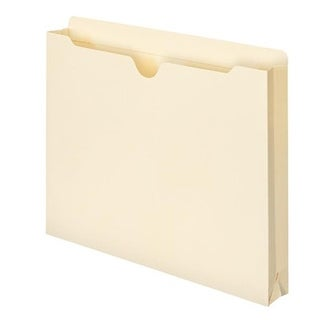 File Jacket, 1.5 In. Expansion & Letter Size - Manila, 50