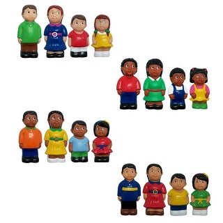 Multicultural Family 4 St Complete Figures