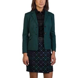 Prada Women's Cotton Nylon Blend Jacket Green - 6