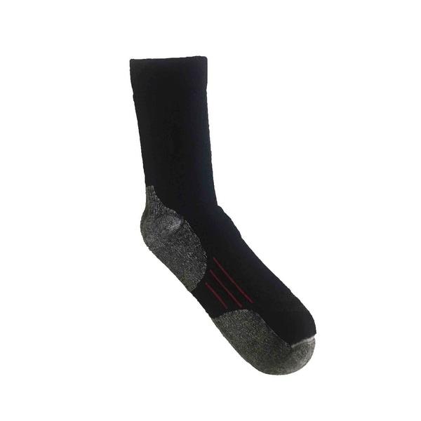 Tufknit 4-Pairs Men's Merino Wool Outdoor Casual Socks - shoe sizes: 10-13