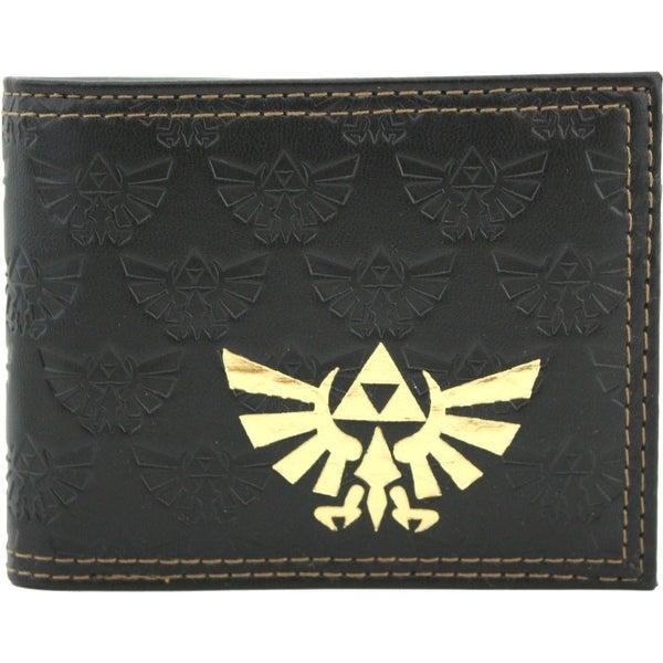 Nintendo Legend Of Zelda Twilight Princess Embossed Bifold Wallet - gray
