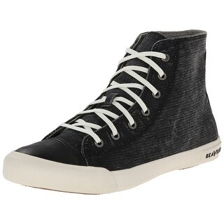 SeaVees NEW Black Shoes Size 9.5M High-Top Fashion Sneakers