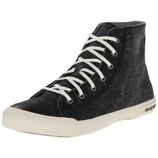 SeaVees NEW Black Women Shoe 5.5M 08/61 Army Issue Mojave Sneaker