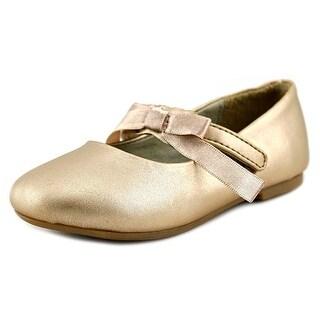 Pazitos Ballerina Round Toe Synthetic Ballet Flats