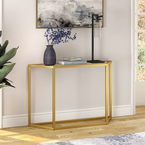 Levi Glam Metal Console Table