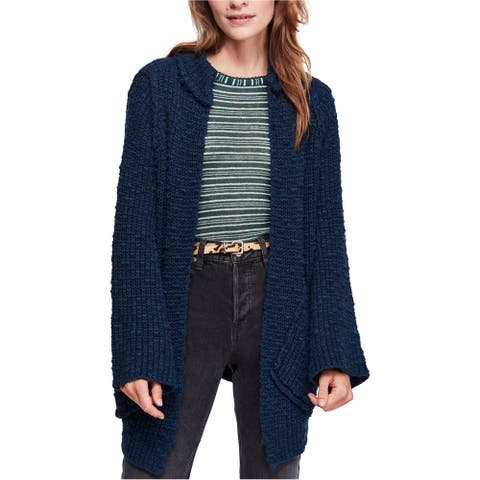 Free People Womens Waterfront Cardigan Sweater