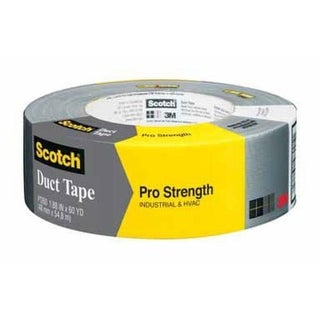 "Scotch 1260-A Pro Strength Duct Tape, 2"" x 60 Yard"