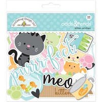 Kitten Smitten - Doodlebug Odds & Ends Die-Cuts 88/Pkg
