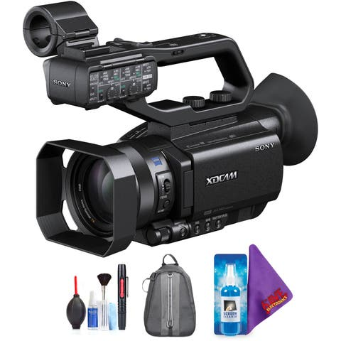 Sony PXW-X70 Professional XDCAM Compact Camcorder + Pro Accessories Bundle (Certified Refurbished)