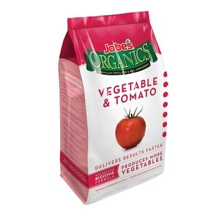 Jobes 09026 Vegetable & Tomato Fertilizer, 4 Lbs