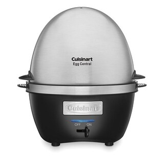 Cuisinart CEC-10 Egg Central Egg Cooker, Stainless & Black