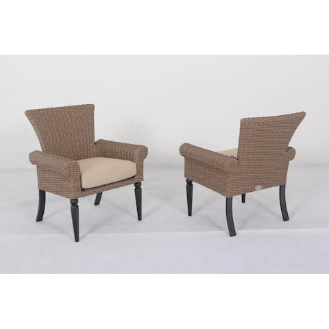 Barcalounger Outdoor Living Pacific Shoreline Dining Chairs with Aluminum Frame (Set of 2)