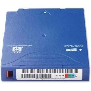 HP LTO-1 Ultrium Data Cartridge HP LTO Ultrium 1 Tape Cartridge - LTO-1 - 100 GB (Native) / 200 GB (Compressed) - 1998.03 ft