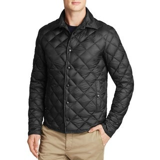 Moncler Frederic Diamond Quilted Down Fill Jacket Black X-Large Size 5