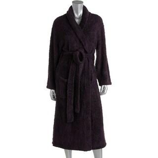 Barefoot Dreams Womens Plush Cozy Knit Long Robe - 1