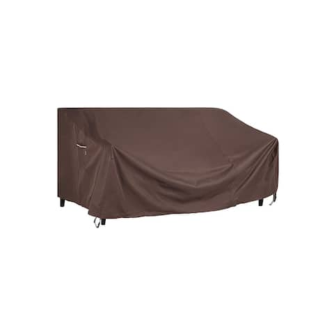 """Waterproof Outdoor Sofa Cover - 90""""L x 38""""W x 30/19""""H"""