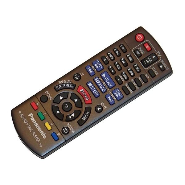 OEM Panasonic Remote Control Originally Shipped With: DMP-BDT360, DMP-BDT361, DMPBDT360, DMPBDT361