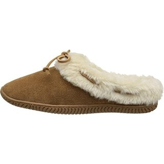 Sperry Womens Bree Mae Faux Suede Slip On Moccasin Slippers - 6 medium (b,m)