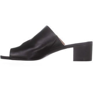 Link to Calvin Klein Womens Daria Leather Split Toe Casual Slide Sandals Similar Items in Women's Shoes