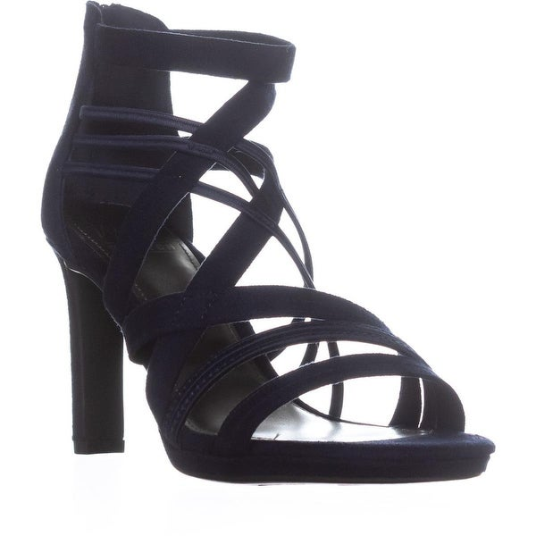 Impo Temple Strappy Dress Sandals, Midnight Blue