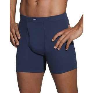 Hanes Classics Men's Dyed Boxer Briefs with ComfortSoft® Waistband 5-Pack
