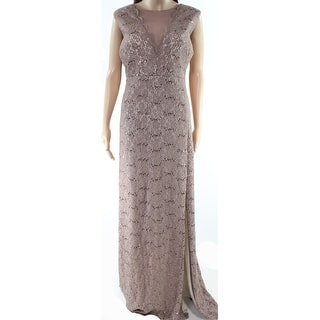 3873cd3dd96 Nightway Women s Plus Floral Lace Sequin Gown