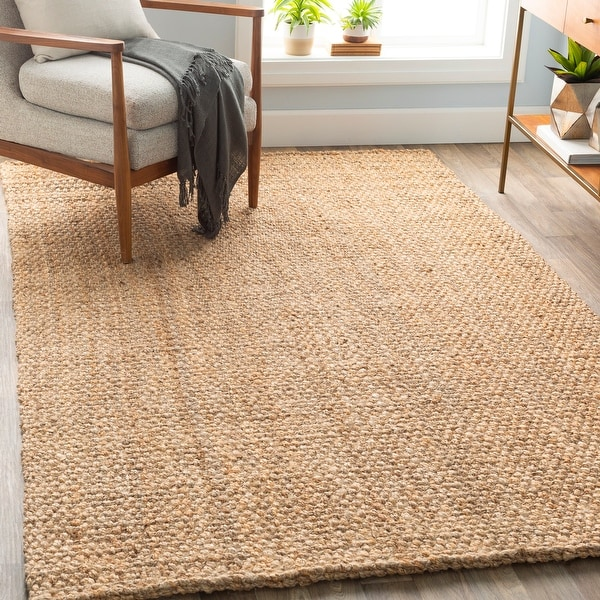 The Gray Barn Flying Turtle Hand-woven Natural Fiber Jute Rug. Opens flyout.