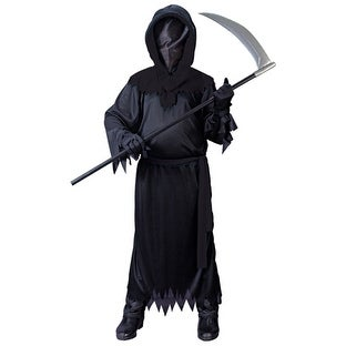 Kids Phantom Costume - Black Scary Halloween Costume