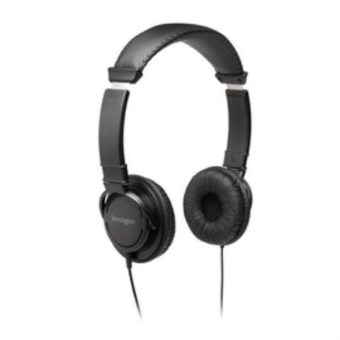 Kensington Headphone K97602WW Hi-Fi Headphones with Mic Retail - Pictured