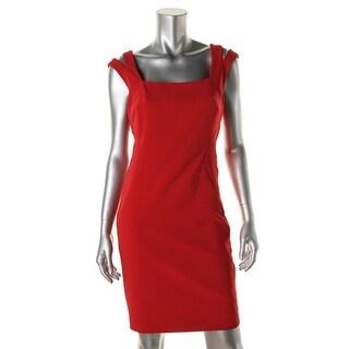 Nicole Miller Womens Sheath Sleeveless Cocktail Dress - 6