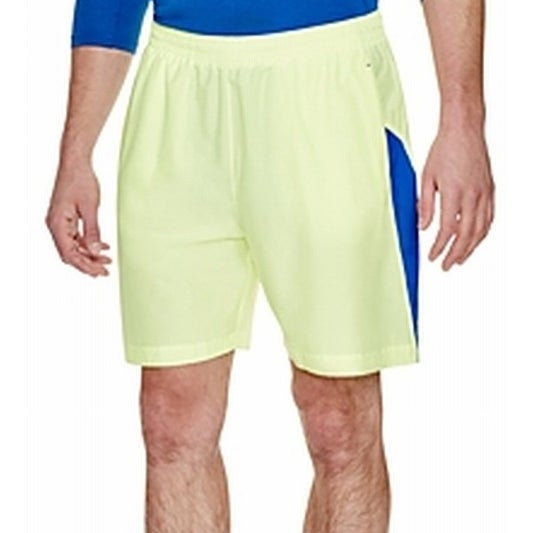 fcd35ec1d5bd4 Shop Under Armour NEW Green Blue Mens Size Large L Fitted Athletic Shorts -  Free Shipping On Orders Over $45 - Overstock.com - 19536220