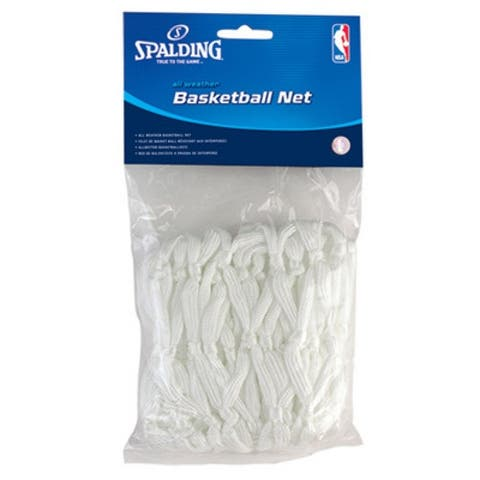 Spalding 8284SR All Weather Basketball Net, White