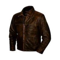 StS Ranchwear Western Jacket Boys Rifleman Leather Brown