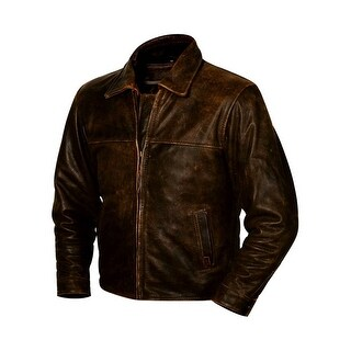 StS Ranchwear Western Jacket Boys Rifleman Leather Brown