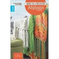 Make In A Weekend-Afghans To Knit - Leisure Arts