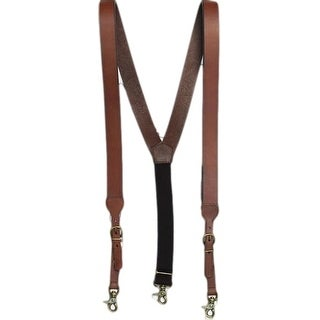 Nocona Suspenders Mens Galluse HD Extreme Rich Earth