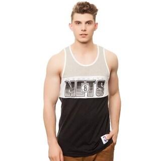 Mitchell & Ness Men's Brooklyn Nets Home Stand Tank - Grey