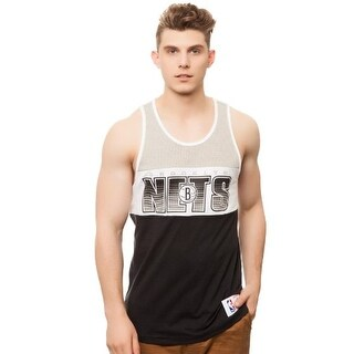 Mitchell & Ness Men's Brooklyn Nets Home Stand Tank - Grey (2 options available)