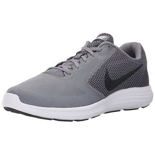 NIKE Men's Revolution 3 Running Shoe, Cool Grey/Black/White